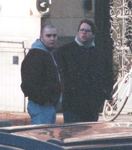 Z prawej to van Mil, ten z lewej to Polman